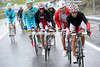 Katusha has suddenly attacked after the feed-zone, led by Angel Vicioso...