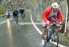 Katusha attacks again with Vladimir Gusev on the Colle del Ordino...