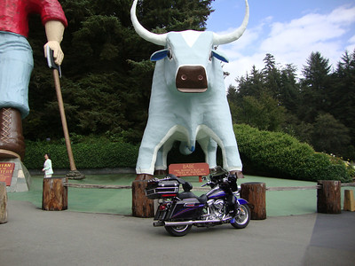 Babe the Blue Ox - He talked to Jim