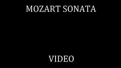 104   MOZART SONATA