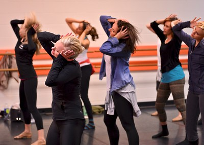 TDA Instructor Training - Tiffany Henderson leads the instructors in new choreography training for Twinkle Stars - Jazz.