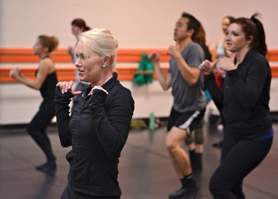 TDA Instructor Training - Tiffany Henderson teaching a new Twinkle Star Dance™ jazz routine to TDA faculty.