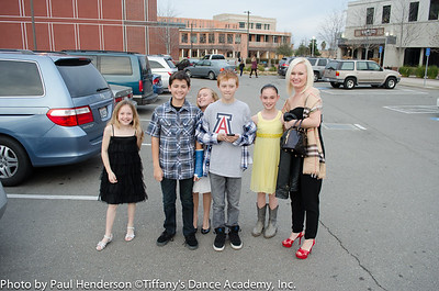 Tiffany's Dance Academy Performing Company on an outing to the Bankhead Theater to watch Best of Smuin Ballet 2013.