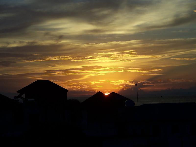 0990 - Sunset from Rooftop Bar at the Maru Maru Hotel - Zanzibar - Tanzania.JPG