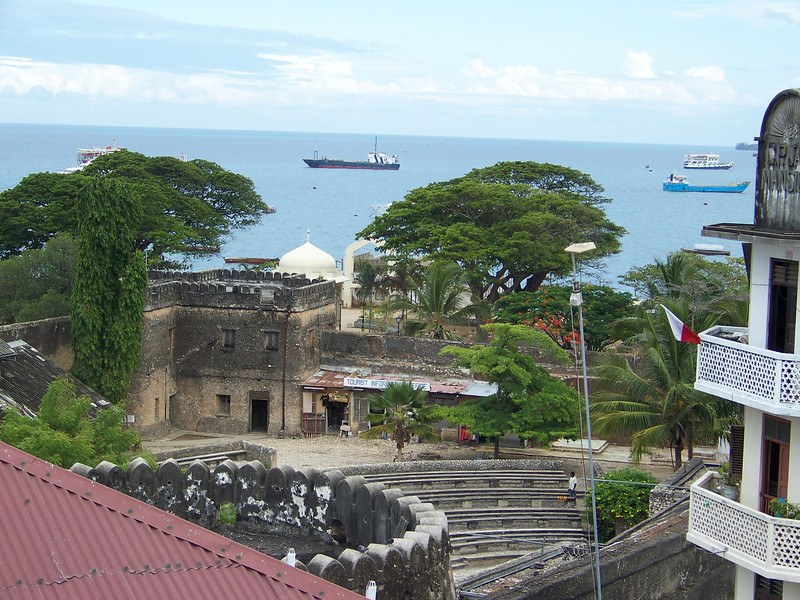 1001 - View Of Some Of Old Stone Town Section of Zanzibar - Zanzibar - Tanzania.JPG