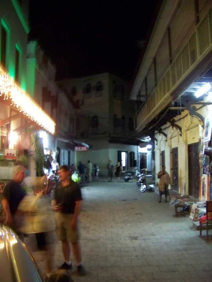 0999 - Street in Front of the Maru Maru Hotel - Zanzibar - Tanzania.JPG