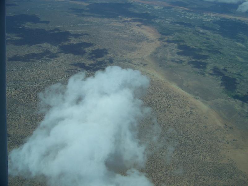 0964 - View on ZanAir Flight from Arusha to Zanzibar - Tanzania.JPG