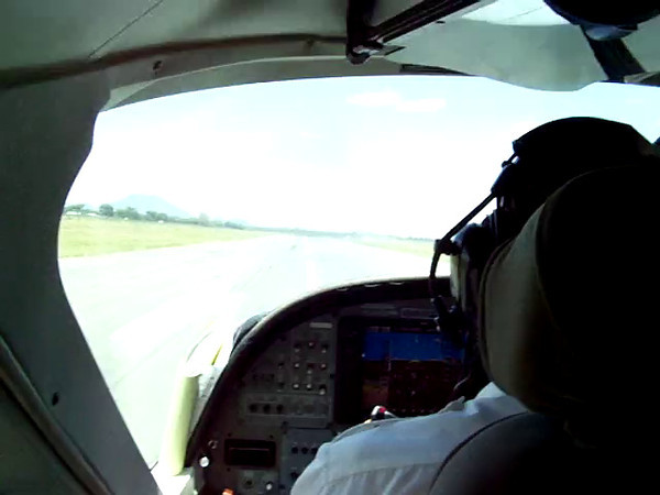 0959 - Our ZanAir Take Off from Arushan Airport to Zanzibar at Arusha Airport - Arusha - Tanzania.MOV