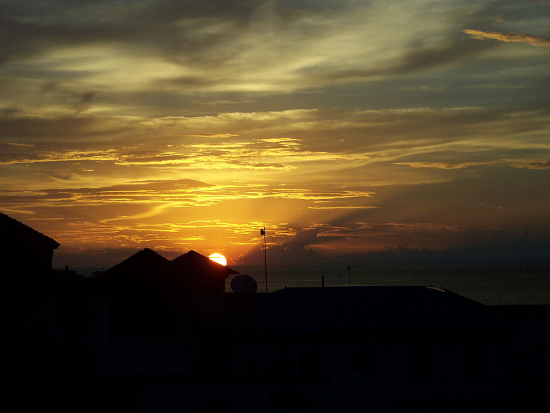 0989 - Sunset from Rooftop Bar at the Maru Maru Hotel - Zanzibar - Tanzania.JPG