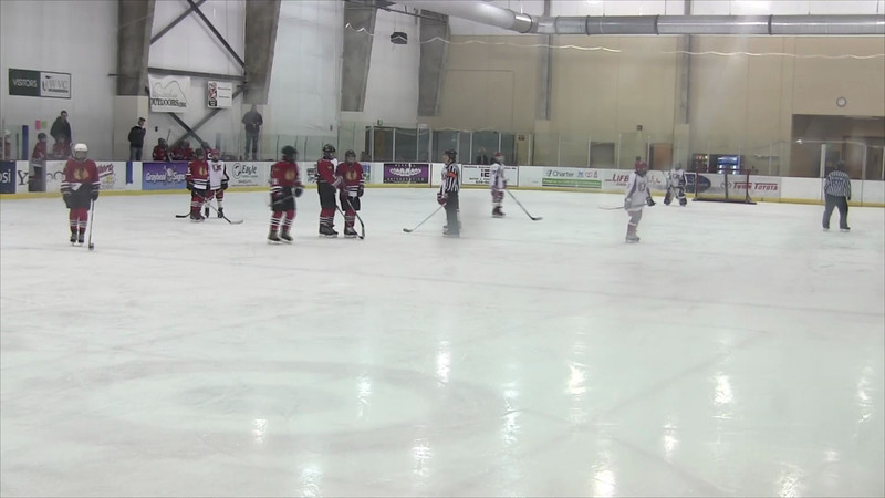01-05-2013 vs Spokane Americans 2nd Period Part 1
