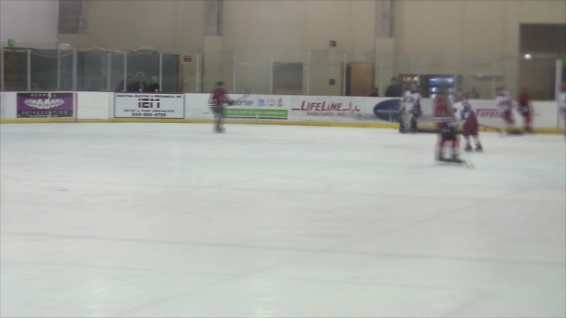 01-05-2013 vs Spokane Americans 2nd Period Part 2