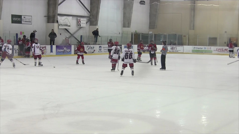 01-05-2013 vs Spokane Americans 3rd Period Part 1
