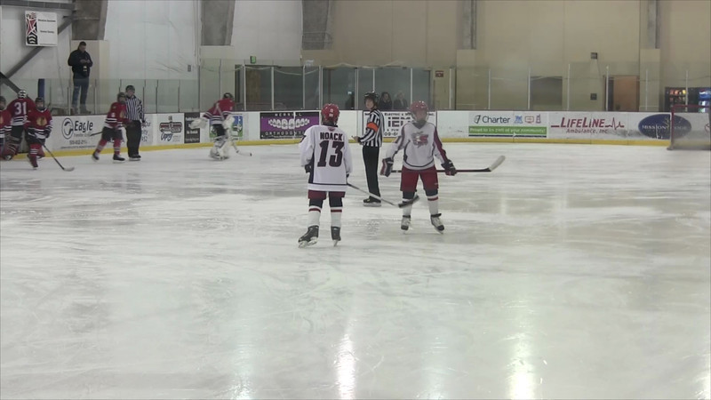 01-05-2013 vs Spokane Americans 1st Period Part 1.