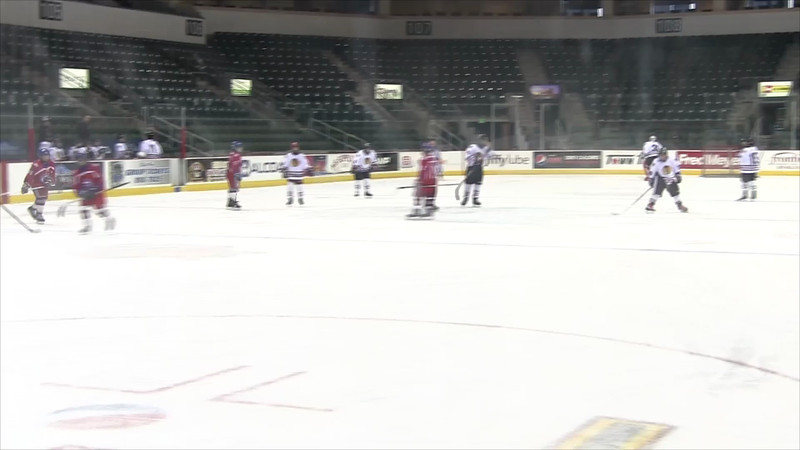 1-6-2013 vs Seattle Admirals 3rd Period Part 1