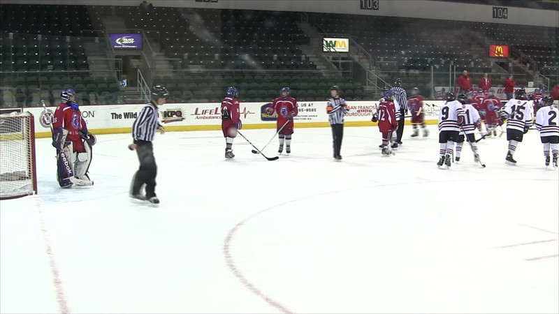 1-6-2013 vs Seattle Admirals 3rd Period Part 3