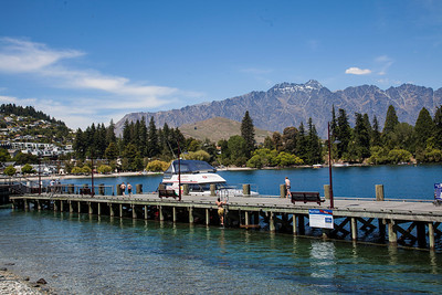 Docks at Queenstown