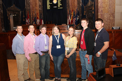 All students from Beauregard Parish includes ALEC and Beauregard winners
