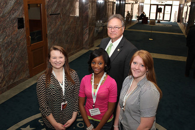 Claiborne Winners with Rep. Gene Reynolds, representing Bossier and Webster Parishes