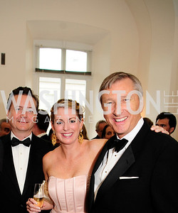 Martin Gammon,Amy Maniatis,David Lyle,,June 13.2013.125th Anniversary of National Geographic Explorers Gala  at The National Building Museum,Kyle Samperton