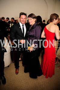 Felix Baumgartner,Elizabeth Saul,,June 13.2013.125th Anniversary of National Geographic Explorers Gala  at The National Building Museum,Kyle Samperton