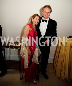 Gail Percy ,Wade Davis,June 13.2013.125th Anniversary of National Geographic Explorers Gala  at The National Building Museum,Kyle Samperton