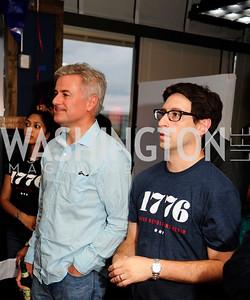 Asha Aravindakshan,Jonathan Ortsmans,Brandon Pollak,July 2 ,2013. 1776's Independence Day Party,Kyle Samperton