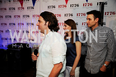 Peter Corbett,,Jen Consalvo,Frank Gruber,July 2 ,2013. 1776's Independence Day Party,Kyle Samperton