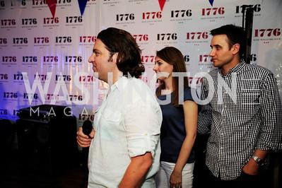 Peter Corbett,,Jen Consalvo,Frank Gruber,July 2 ,2013. 1776's Independence Day Party,Kyle Samperton