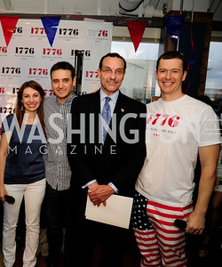 Jen Consalvo,Peter Corbett,J,Mayor Vincent Gray,Evan Burfield,July 2 ,2013. 1776's Independence Day Party,Kyle Samperton