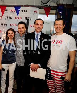 Jen Consalvo,Peter Corbett,J,Mayor Vincent Gray,Evan Burfield,July 2 ,2013. 1776's Independence Day Party,Kyle Samperton