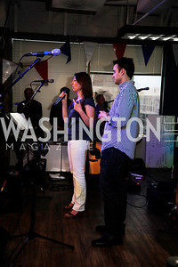Jen Consalvo,Frank Gruber,July 2 ,2013. 1776's Independence Day Party,Kyle Samperton