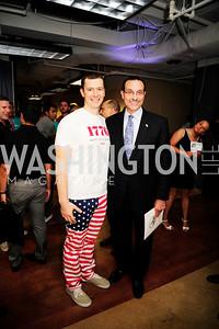 Evan Burfield,Mayor Vincent Gray,July 2 ,2013. 1776's Independence Day Party,Kyle Samperton