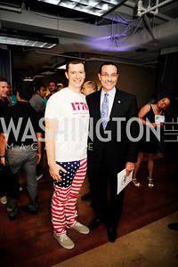 Evan Burfield,Mayor Vincent Gray,July 2 ,2013. 1776's Independence Day Party,Kyle Samperton