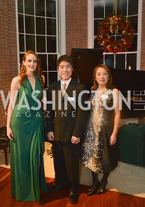 Kate Goodall, Ryo Yanagitani, Dr. Sachiko Kuno, S&R Foundation's Night Nouveau at the Evermay Estate.  Photo by Ben Droz