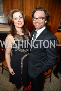 Silvia Taylor, Abraham Taylor, S&R Foundation's Night Nouveau at the Evermay Estate.  Photo by Ben Droz