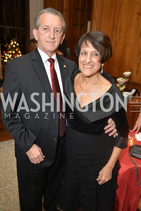 Hugh Grindstaff , Joan Keston, S&R Foundation's Night Nouveau at the Evermay Estate.  Photo by Ben Droz