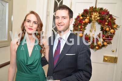 Kate Goodall, Shawn Plunkett S&R Foundation's Night Nouveau at the Evermay Estate.  Photo by Ben Droz