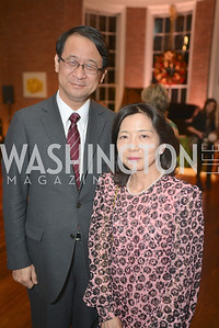 Minister Shotaro Yachi,  S&R Foundation's Night Nouveau at the Evermay Estate.  Photo by Ben Droz