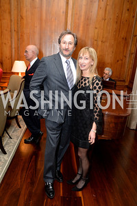 Larry Rosenfeld, Jennifer Weiss S&R Foundation's Night Nouveau at the Evermay Estate.  Photo by Ben Droz