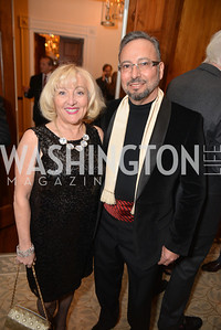 Bassam Alkahouji, Carole Alkahouji, S&R Foundation's Night Nouveau at the Evermay Estate.  Photo by Ben Droz