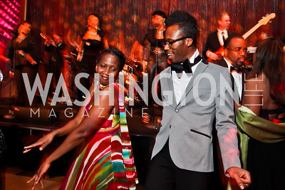 Sheyi Ojofeitimi, Dante Baylor. Photo by Tony Powell. 2013 Alvin Ailey Gala. Kennedy Center. February 5, 2013