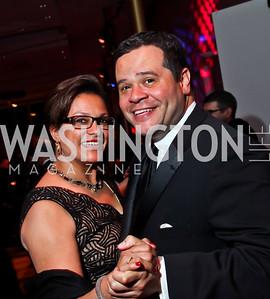 Debbi and Ernie Jarvis. Photo by Tony Powell. 2013 Alvin Ailey Gala. Kennedy Center. February 5, 2013