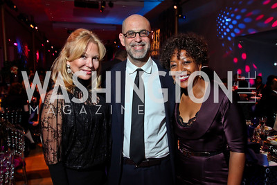 Cheryl Masri, Robert Raben, Gina Adams. Photo by Tony Powell. 2013 Alvin Ailey Gala. Kennedy Center. February 5, 2013