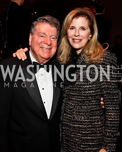 Calvin and Jane Cafritz. Photo by Tony Powell. 2013 Alvin Ailey Gala. Kennedy Center. February 5, 2013