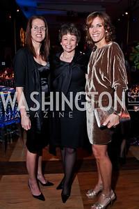 Carolyn Niles, Valerie Jarrett, Hillary Baltimore. Photo by Tony Powell. 2013 Alvin Ailey Gala. Kennedy Center. February 5, 2013