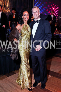 Mary and Alex Barth. Photo by Tony Powell. 2013 Alvin Ailey Gala. Kennedy Center. February 5, 2013