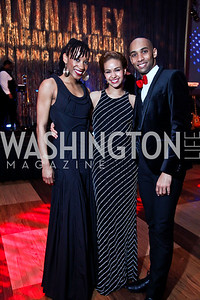 Ailey dancers Demetia Hopkins, Belen Pereyra, Sean Carmon. Photo by Tony Powell. 2013 Alvin Ailey Gala. Kennedy Center. February 5, 2013