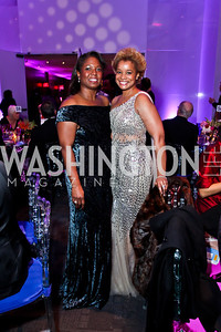 Monica Thompson, Aisha Davis. Photo by Tony Powell. 2013 Alvin Ailey Gala. Kennedy Center. February 5, 2013