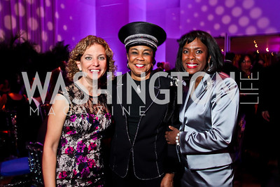 Congresswomen Debbie Wasserman Schultz, Frederica Wilson, and Terri Sewell. Photo by Tony Powell. 2013 Alvin Ailey Gala. Kennedy Center. February 5, 2013