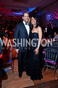 Chris and Lynne Cowan. Photo by Tony Powell. 2013 Alvin Ailey Gala. Kennedy Center. February 5, 2013